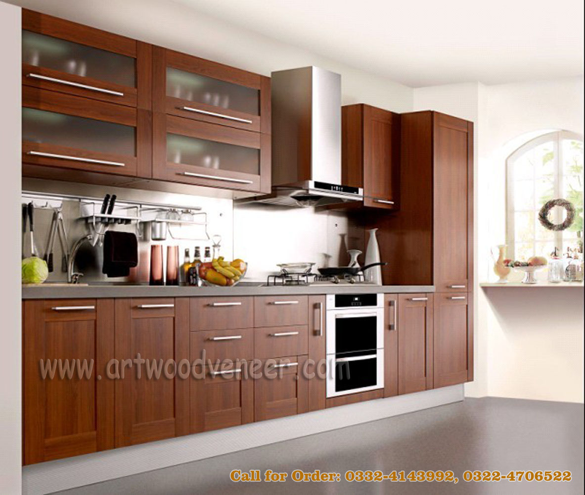 Korean style kitchen design for Kitchen cabinets in pakistan