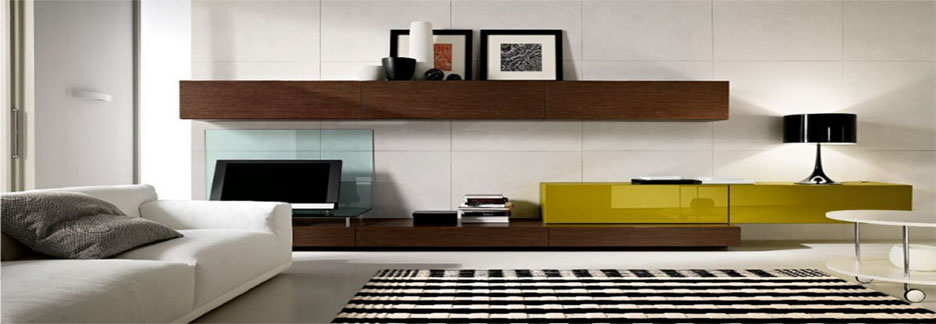 Wooden LCD console / panel veneer design sale in Lahore