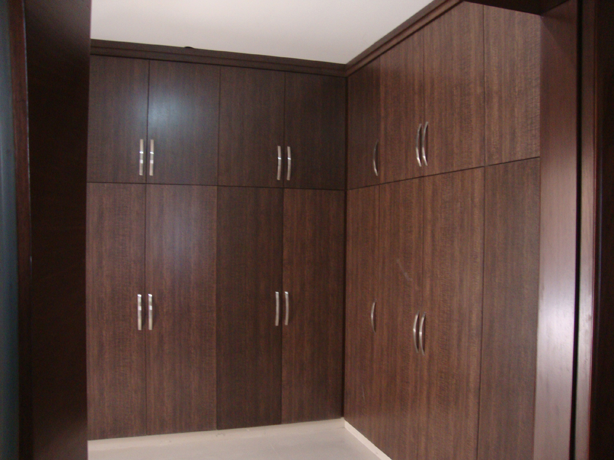 Kitchen And Wardrobes With Door Project At Islamabad Dha Phase Ii Art Wood Veneer