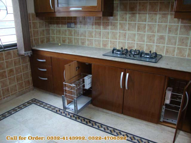 Kitchen cabients with door project at shalimar town lahore for Kitchen cabinets in pakistan