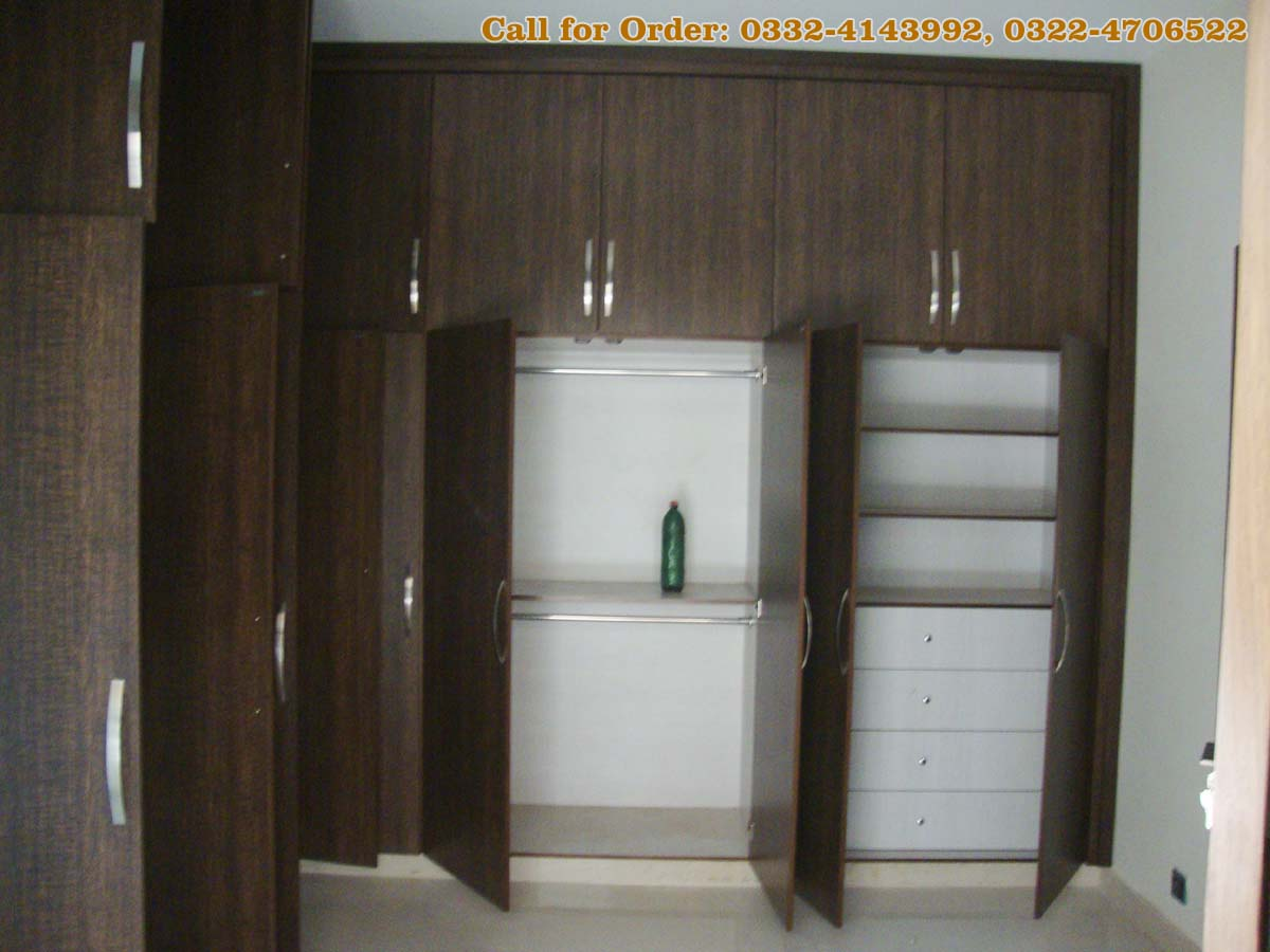 Kitchen And Wardrobes With Door Project At Islamabad Dha