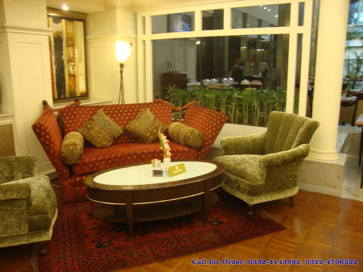Modern sofa design with sharp look at pc hotel lahore