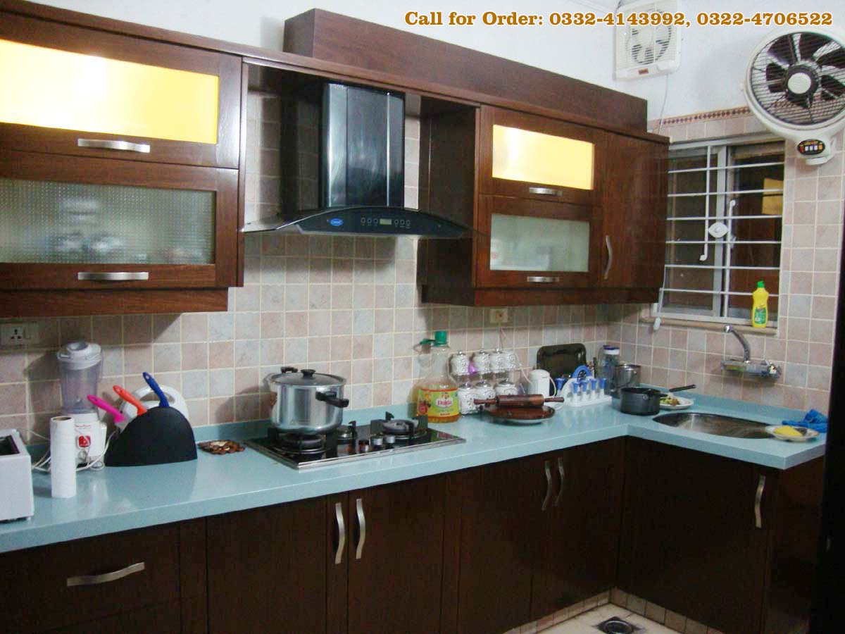 Kitchen project at bahria town lahore kitchen manufacturer for Kitchen cabinets in pakistan