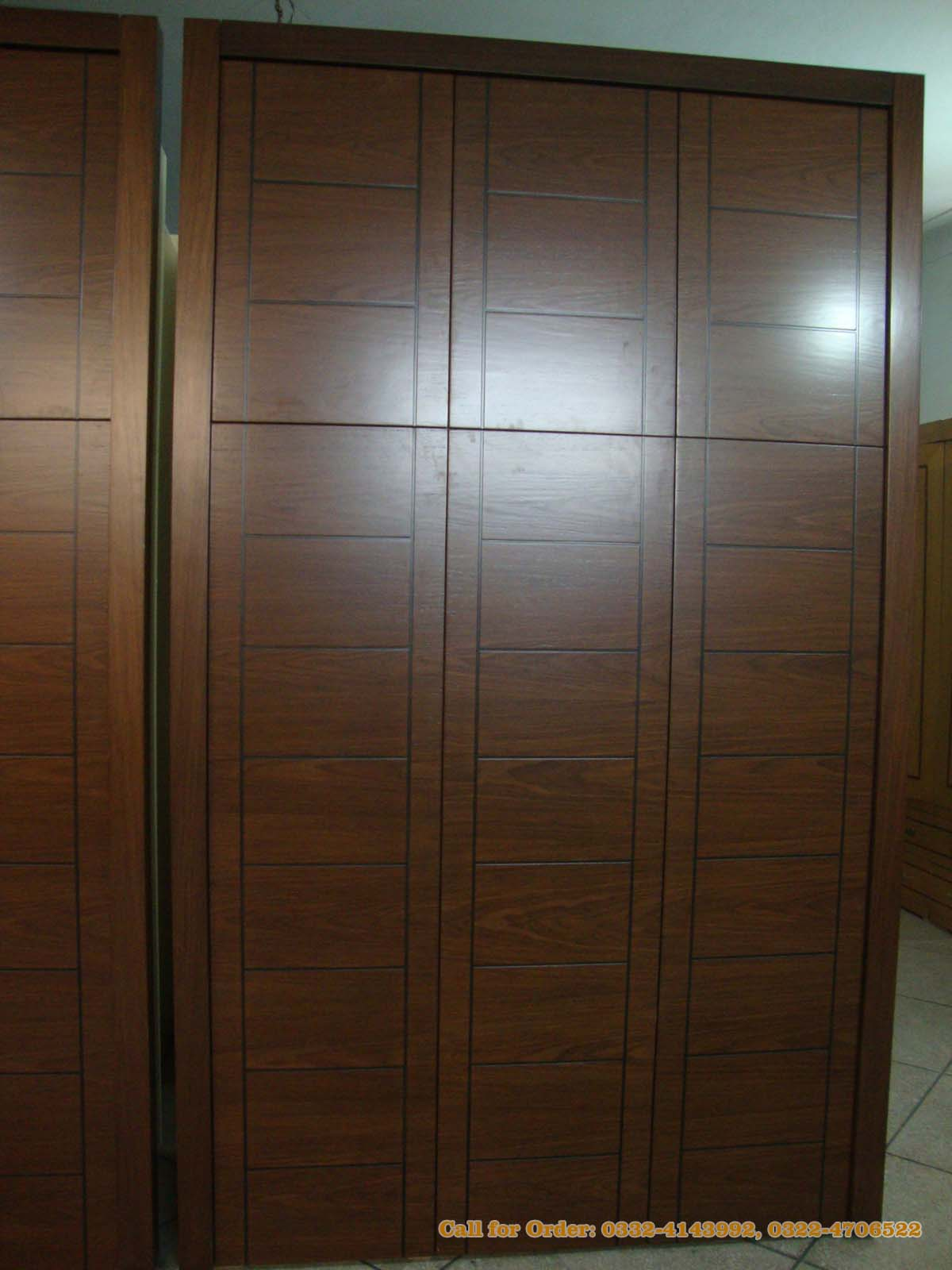 Imported veneer wardrobes at ici khewra pakistan for Kitchen wardrobe cabinet
